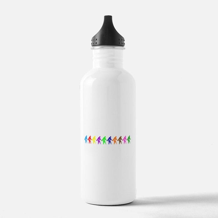 Ten Color Squatches Water Bottle