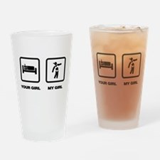 Bodybuilding Drinking Glass