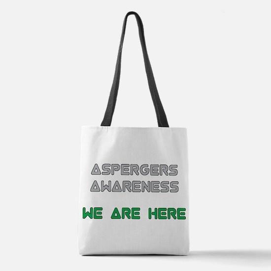 Aspergers Awareness Polyester Tote Bag