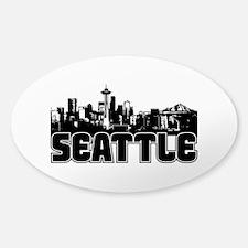 Seattle Skyline Decal