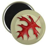 """Pin Oak Leaf 2.25"""" Magnet (10 pack)"""