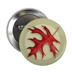 "Pin Oak Leaf 2.25"" Button (10 pack)"