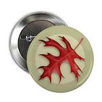 Pin Oak Leaf Button