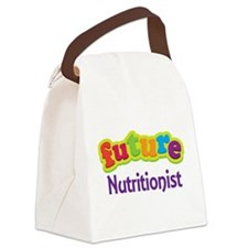 Future Nutritionist Canvas Lunch Bag
