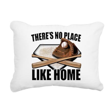NoPlaceLikeHome copy Rectangular Canvas Pillow