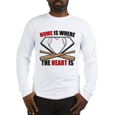 HomeWhereHeartIs copy Long Sleeve T-Shirt