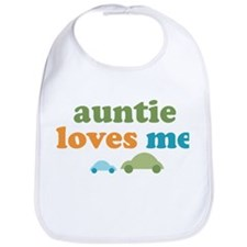 Auntie Loves Me Bib