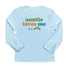 Auntie Loves Me Long Sleeve Infant T-Shirt