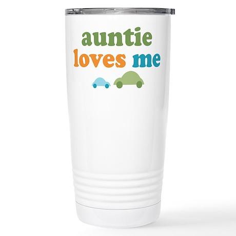 Auntie Loves Me Stainless Steel Travel Mug