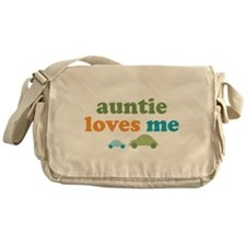 Auntie Loves Me Messenger Bag