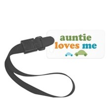 Auntie Loves Me Luggage Tag