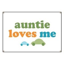 Auntie Loves Me Banner