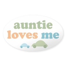 Auntie Loves Me Decal