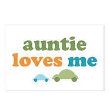 Auntie Loves Me Postcards (Package of 8)