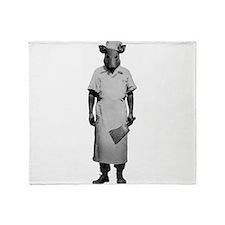Here Piggy Piggy Throw Blanket