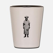 Here Piggy Piggy Shot Glass