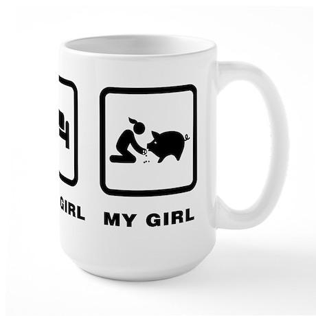 Pig Lover Large Mug