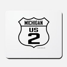 US Route 2 - Michigan Mousepad