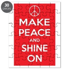Make Peace and Shine On Puzzle