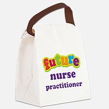 Future Nurse Practitioner Canvas Lunch Bag