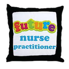 Future Nurse Practitioner Throw Pillow