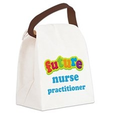 Future Nurse Practitioner Canvas Lunch Bag