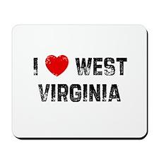 I * West Virginia Mousepad