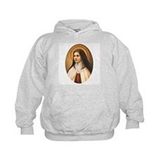 Saint Therese of Lisieux Hoodie