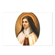 Saint Therese of Lisieux Postcards (Package of 8)