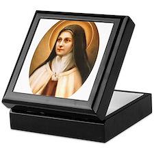 Saint Therese of Lisieux Keepsake Box