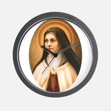 Saint Therese of Lisieux Wall Clock
