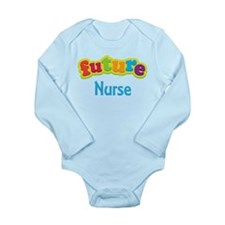 Future Nurse Long Sleeve Infant Bodysuit