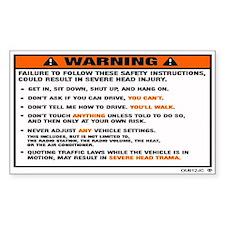 WARNING2.jpg Decal