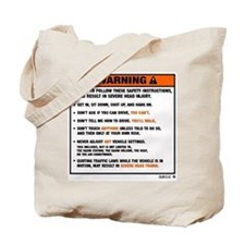 WARNING2.jpg Tote Bag