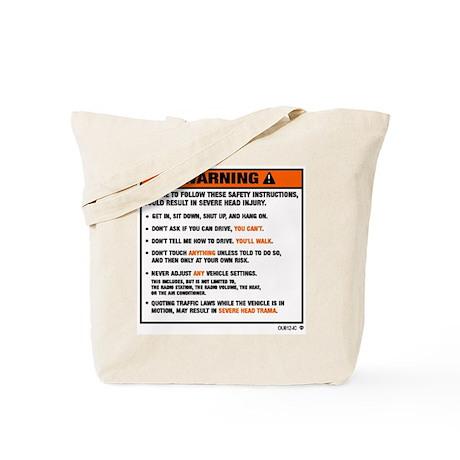 WARNING2.jpg Tote Bag