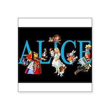 ALICE IN WONDERLAND & FRIENDS Rectangle Sticker