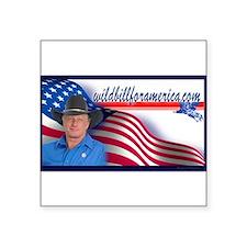 Wild Bill for America Eagle Sticker