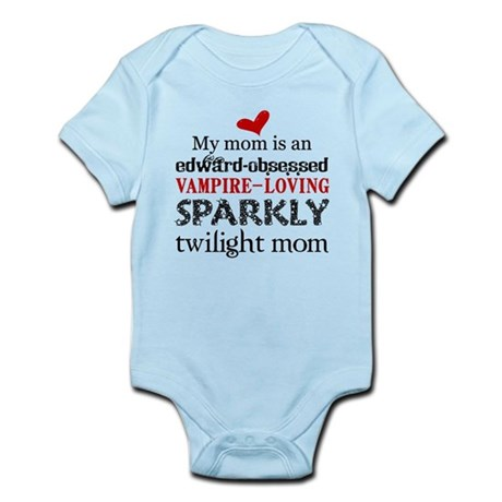 Sparkly Baby Mom2 Body Suit
