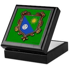 Tile - Marie Dooley Keepsake Box