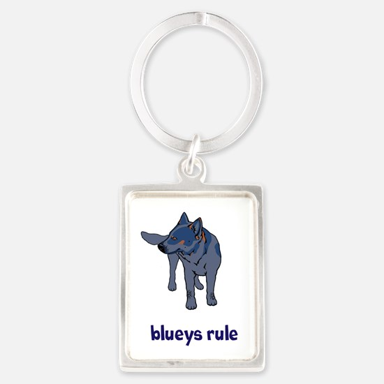 Blueys Rule Portrait Keychain