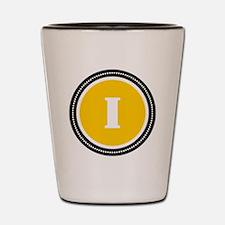 Yellow Shot Glass