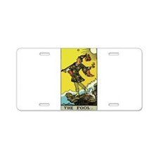 The Fool.png Aluminum License Plate