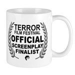 Terror Film Festival Screenplay Finalist Mugs