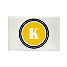 Yellow Rectangle Magnet