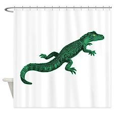 Baby Gator Shower Curtain