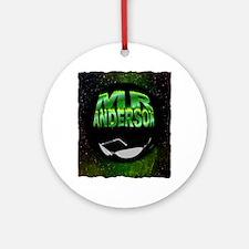 mr anderson art illustration Ornament (Round)