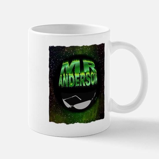 mr anderson art illustration Small Mug