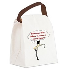 Please Sir, May I have another? Canvas Lunch Bag