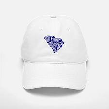 Blue Paisley Baseball Baseball Cap