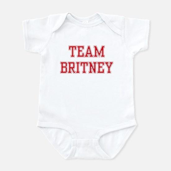 TEAM BRITNEY  Infant Bodysuit